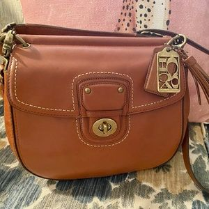 MOST WANTED VINTAGE COACH CROSSBODY